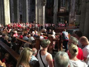 Gottesdienst zur Saisoneröffnung 2017 im Kölner Dom
